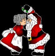 Coisas para o Natal: Gifs de Casais de Natal