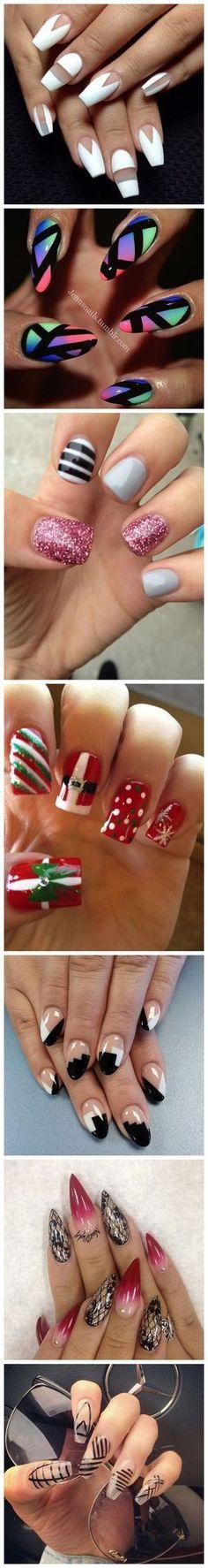 7 Cute & Easy Fall Nail Art Designs, Ideas, Trends & Stickers 2015 - Fashion Te