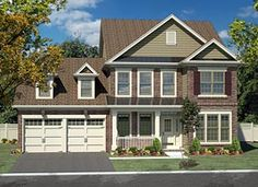 Colonial Traditional House Plan 80304 Elevation