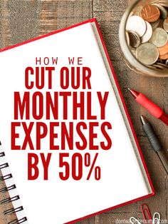 Tips for cutting expenses.To stay at home with our son, we had to cut our monthly expenses by 50%. Here's how we did it, and how you can do it too. :: DontWastetheCrumbs.com