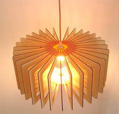 Cylindrical Pendant Light by DesignsJN on Etsy