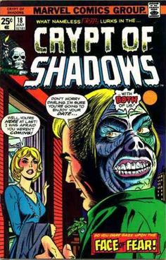 """michaelallanleonard: """" Just in case you were wondering where ol' Tom Riddle got the idea of hiding on the back of a head … old Muggle horror comics from the Ron Wilson & Vince Colletta, July. Scary Comics, Sci Fi Comics, Old Comics, Horror Comics, Marvel Comic Books, Vintage Comics, Comic Books Art, Comic Art, Horror Films"""