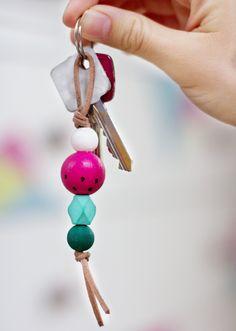 DIY Geschenke Schlüsselanhänger basteln