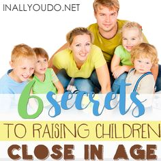 6 Secrets for Raising Children Close in Age - In All You Do - Parenting is hard work, but somehow it seems even more daunting when your children are close in age - Parenting Plan, Parenting Memes, Parenting Toddlers, Positive Parenting Solutions, Bible Study For Kids, Parent Resources, Christian Parenting, Raising Kids, Good Movies