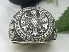 Bundesadler Кольцо серебро Ehrenring Siegelring немецкий орел кольцо