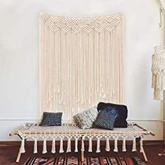 This over-dimensional wall art made of cotton rope is fantastic for sound absorption. It represents the Feng Shui element of Wood. Found this on Amazon UAE for you. #ad #fengshui #wellness #fengshuihome #fengshuidecor #fengshuitips