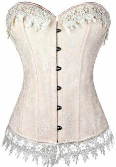 Tparis Fashion Lace up pink Busiter Sexy Korsett damen corsage: Amazon.de: Bekleidung