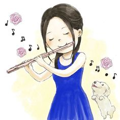Sound Of Music, Music Love, Music Is Life, Good Music, Music Drawings, Easy Drawings, Musik Illustration, Indian Musical Instruments, Flute Sheet Music