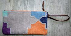 NEW INDIAN Kilim HANDBAGS VINTAGE Kilim BAG CLUTCH WALLET PURSES Cotton  #Unbranded #Clutch