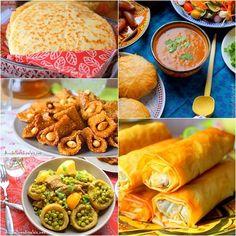 Avec un peu de retard, je partage avec vous notre Menu Ramadan 2019 / Idées recettes Ftour, mes amies blogueuses se joignent à moi; Djouza du blog cuisinez avec djouza, Sarah du blog le sucré salé d'oum souhaib, Samia du blog le monde culinaire de Samia afin de vous proposer comme à chaque année des idées facile, simple et rapide à réaliser pour ce mois sacré de Ramadan. Une table ramadanesque regroupant des mets de la cuisine marocaine, algérienne, turque entrée plat dessert pain soupe… Great Recipes, Snack Recipes, Cooking Recipes, Recipe Ideas, Plats Ramadan, Mets, Charcuterie, Flan, Bbq