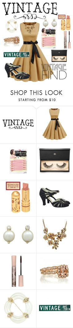 """""""Vintage find"""" by cassieq6929 ❤ liked on Polyvore featuring Lash Star Beauty, WithChic, Paul & Joe, Givenchy and vintage"""