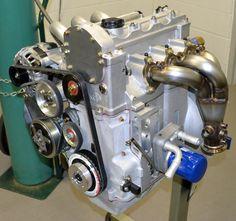 Elio'a Engine Side View