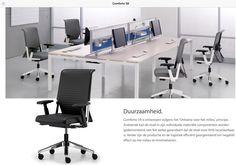 Bureaustoel Comforto systeem 59 by JW-Projects Den Bosch