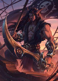 Captain Vaelrin Firestorm by draken4o on DeviantArt