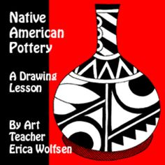 In this lesson, students are shown step by step how to draw a piece of pottery and decorate it with striking geometric shapes. Use this lesson as a hands on project for learning about Native American arts and artifacts. Every instruction is fully illustrated and ready to print in full size for your classroom.