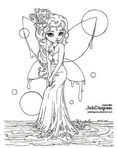 water_fairy___lineart_by_jadedragonne-d5yczf4.png 1,306×1,650 pixels