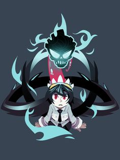 Filia T-shirt from the Skullgirls video game. $19.95
