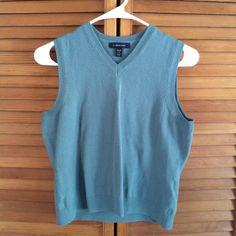 For Sale: Lands End Green Sweater Vest for $6