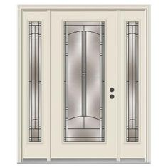 Front Doors With Sidelites And 3 4 Glass Google Search