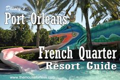 Disney's Port Orleans French Quarter Resort Guide from themouseforless.com #DisneyWorld #Vacation Includes travel times to disney locations