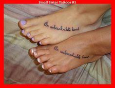 Small Sister Tattoos 01