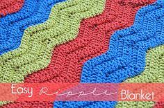 Ravelry: Easy Ripple Blanket pattern by The Stitchin' Mommy