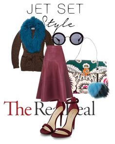 """Jet Set Style With DJ Mia Moretti & The RealReal: Contest Entry"" by beccallop ❤ liked on Polyvore featuring Prada, Valentino, Charlotte Simone, L.K.Bennett and Miu Miu"