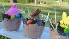 spring/easter treat cups