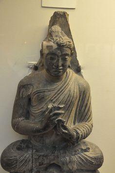 VajraMudra Gandhara Buddhism Symbols, Sitting Buddha, Buddha Art, Afghanistan, Mindfulness, Statue, Buddha Artwork, Consciousness, Sculptures