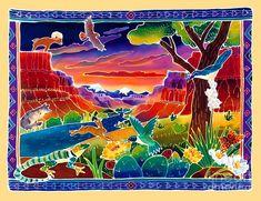 Life of the Desert Painting - Life of the Desert Fine Art Print