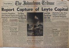 The Johnstown Tribune - World War II: October 21, 1944: Report Capture of Leyte Capital