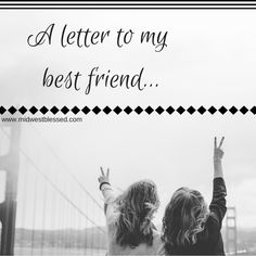 Dear Best Friend, HAPPY 21stBIRTHDAY. Wow, I don't even know where to begin, you mean the world to me! You've done so much for me, some of which you probably aren't even aware of!Thank you for always being there for me, thank you for accepting me at my worst, thank you for forgiving me when ... [Read more...]