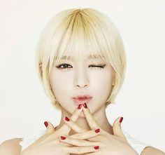 ChoA - AOA.....Eye Candy: 20 females stars who rock short hair   allkpop.com