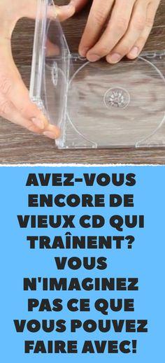 Avez-vous encore de vieux CD qui traînent? Vous n'imaginez pas ce que vous pouvez faire avec!
