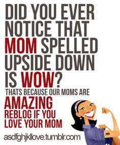 Moms rule by laurel