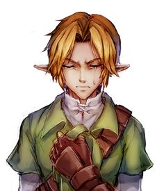 Ocarina of Time // Link The Legend Of Zelda, Legend Of Zelda Breath, Oot Link, Link Zelda, Ocarina Of Times, Link Art, Twilight Princess Hd, Fire Emblem Awakening, Breath Of The Wild