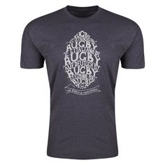 Upright Craft Rugby The World in Your Hands T-Shirt (Dark Grey)