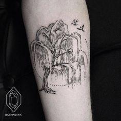 Willow Tree Tattoo by Bicem Sinik