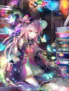 Ideas For Anime Art Fantasy Witches Gato Anime, 5 Anime, Anime Angel, Anime Chibi, Pretty Anime Girl, Beautiful Anime Girl, Kawaii Anime Girl, Anime Art Girl, Anime Girls