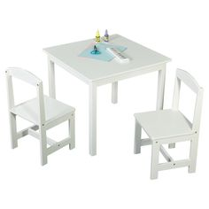 400d11de9315 TMS Hayden 3 Piece Kids Square Table   Chair Set