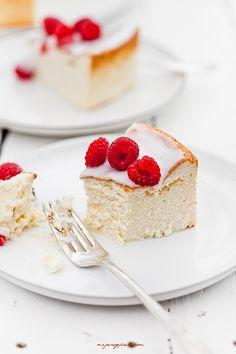 fluffy vanilla cheesecake.