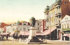 Constanta - Hotel Europa - antebelica Old Pictures, Old Photos, Bucharest Romania, Old Postcards, Vintage Photographs, Old Town, Memories, Country, Places
