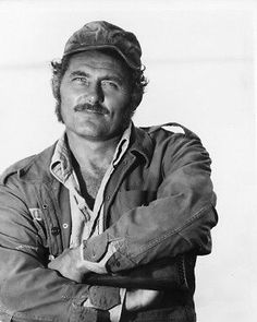 JAWS ROBERT SHAW 8X10 PHOTO CLASSIC PORTRAIT