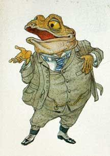 Eric Kincaid 1986 Wind in the Willows Mr Toad, Character Art, Character Design, Funny Frogs, Frog Art, Children's Book Illustration, Book Illustrations, Skyfall, Oeuvre D'art