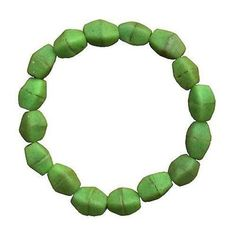Lime Green Glass Pebbles Bracelet - Global Mamas ➤ USD Global Mamas' beads are handmade from recycled glass using ancient traditions. Bracelets have clear elastic band, one size fits all. Metal Beads, Glass Beads, Handmade Bracelets, Beaded Bracelets, Handmade Jewelry, Fair Trade Jewelry, Recycled Glass, Jewelry Patterns, Artisan Jewelry