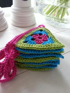 Cute triangle granny....