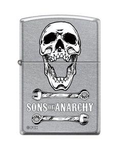 "sons of anarchy zippo lighters | Zippo ""Sons of Anarchy"" Street Chrome Lighter 5747 | eBay"
