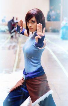 My favorite Korra cosplayer - Imgur