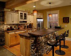 Kitchen Rock Backsplash Design, Pictures, Remodel, Decor and Ideas - page 6