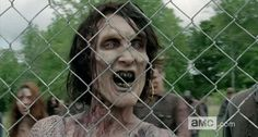 "A zombie on AMC's ""The Walking Dead"" (YouTube) The Walking Dead' fans can now take a virtual tour of Alexandria Safe Zone"